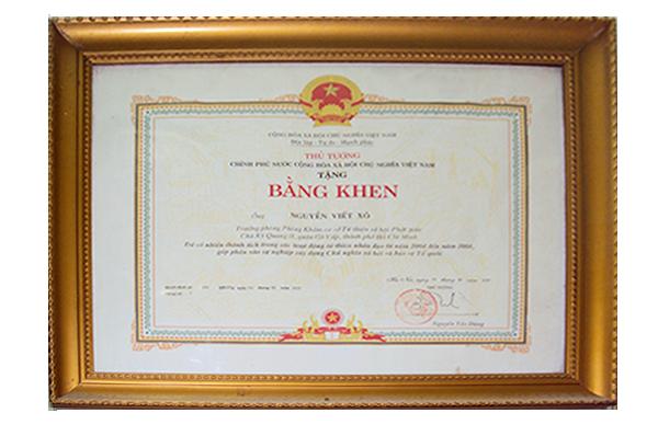 bang-khen-truong-phong-kham