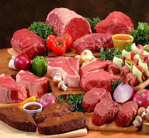 Dinh dưỡng đa dạng trong các loại thịt